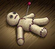Приворот на кровь с куклой